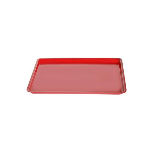 Δίσκος παρ/μος 27,5x20cm Κόκκινος-407202