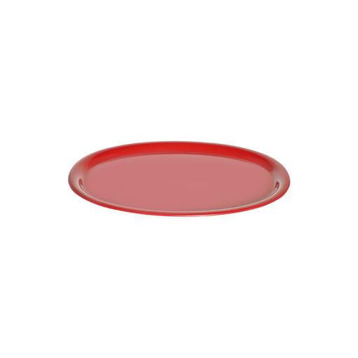 Δίσκος Οβάλ 29,5x21cm Κόκκινος-407201