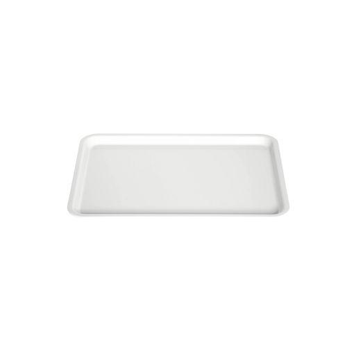 Δίσκος παρ/μος 27,5x20cm Λευκός-407102