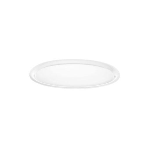 Δίσκος Οβάλ 29,5x21cm Λευκός-407101