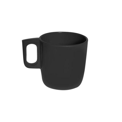 Κύπελλο Γάλακτος με λαβή 300mL Μαύρο-409413