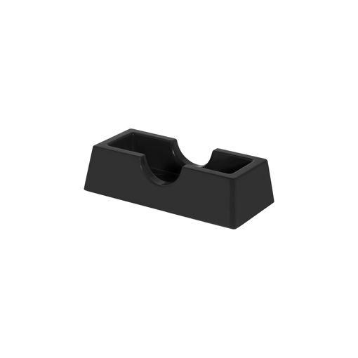 Θήκη οδοντογλυφίδων Μαύρη-409406