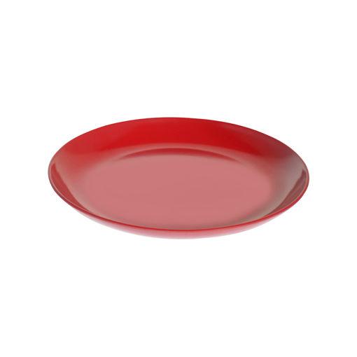 Πιάτο Ρήχο Κουπ Νο 225 Κόκκινο-404202