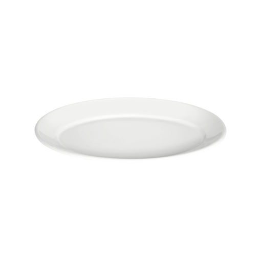 Πιατέλα Β' Νο 57 34x23,5cm Λευκό-401106