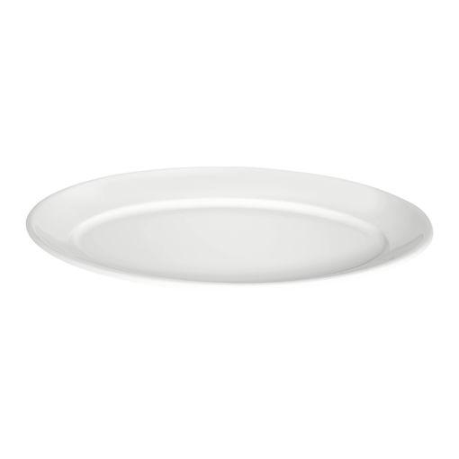Πιατέλα Γ' Νο 68 40x26cm Λευκό-401107