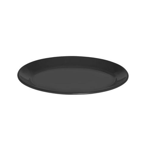 Πιατέλα Β' Νο 57 34x23,5cm Μαύρο-402406