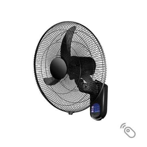 Picture of Ανεμιστήρας επίτοιχος τηλεχειριζόμενος Φ45cm 60W Μαύρος
