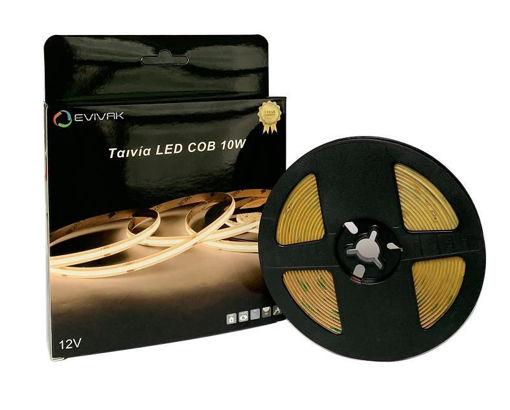 Picture of TΑΙΝΙΑ LED COB 10W/M 6000K 5M